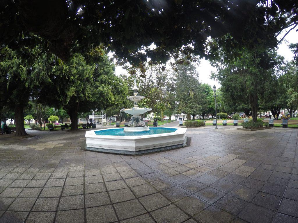 Pileta de la plaza de La Unión