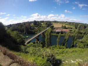 Vista del Fuerte de Rio Bueno.